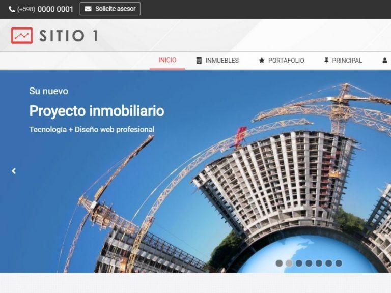 Real Estate Web Site Design Template 1
