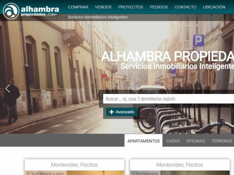Software para administración y gestión de propiedades con lo Mejor en Diseño web. - Alhambra propiedades
